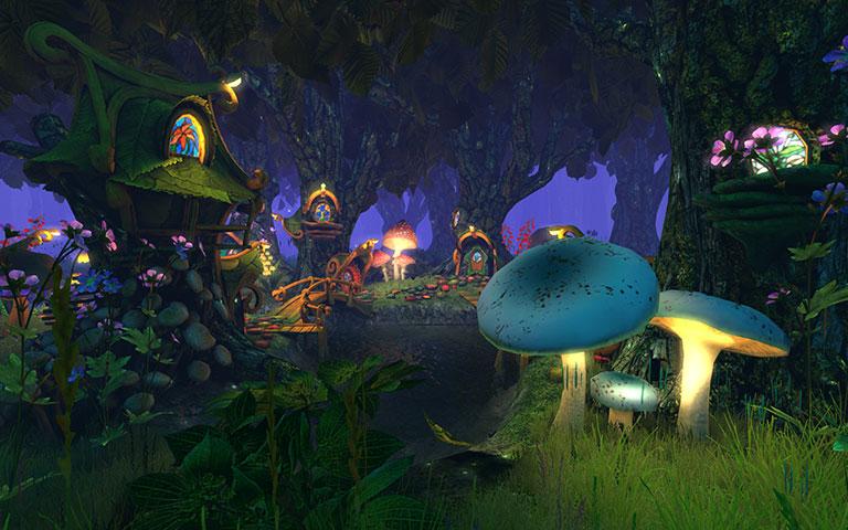 Free 3d Wallpaper For Computer Desktop Screenshots For Fairy Forest 3d Screensaver 2