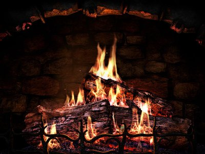 Fireplace 3D Screensavers - Fireplace - Real fireplace at your desktop.