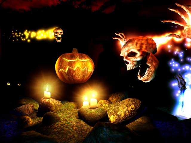 Iphone X Live Wallpaper Gif Download Holidays 3d Screensavers Halloween Cool Spooky