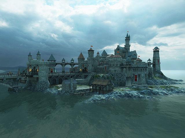 Plane 3d Wallpaper Screenshots For Medieval Castle 3d Screensaver 2