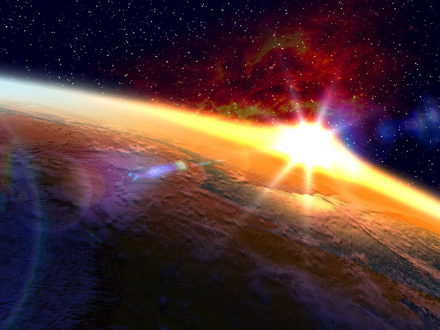 3d Solar System Live Wallpaper For Android Space 3d Screensavers Orbital Sunset Space 3d