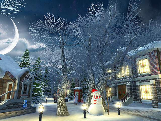 Falling Snow Live Wallpaper Tutorial Screenshots For Snow Village 3d Screensaver 3