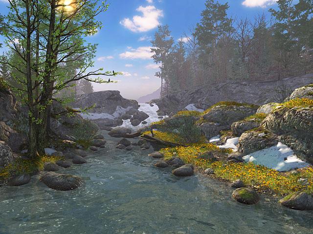 Download Free Live Wallpapers 3d Nature 3d Screensavers Springtime Animated Springtime