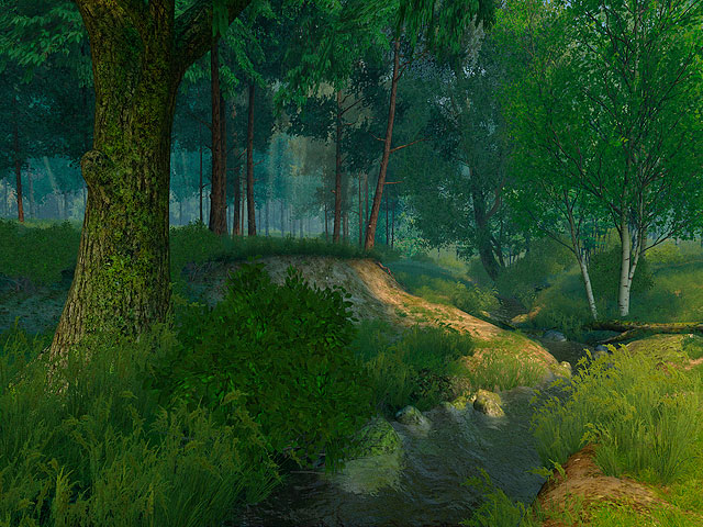 3d Animation Wallpaper For Windows Xp Nature 3d Screensavers Summer Forest Set Up Camp On