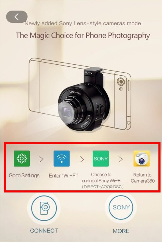 Camera360 app for iPhone Tutorials