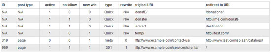 quick page and post redirect plugin for wordpress