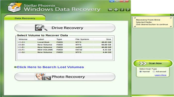 Stellar Phoenix Windows Data Recovery