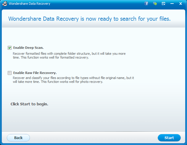 file recovery tutorial with wondershare data recovery