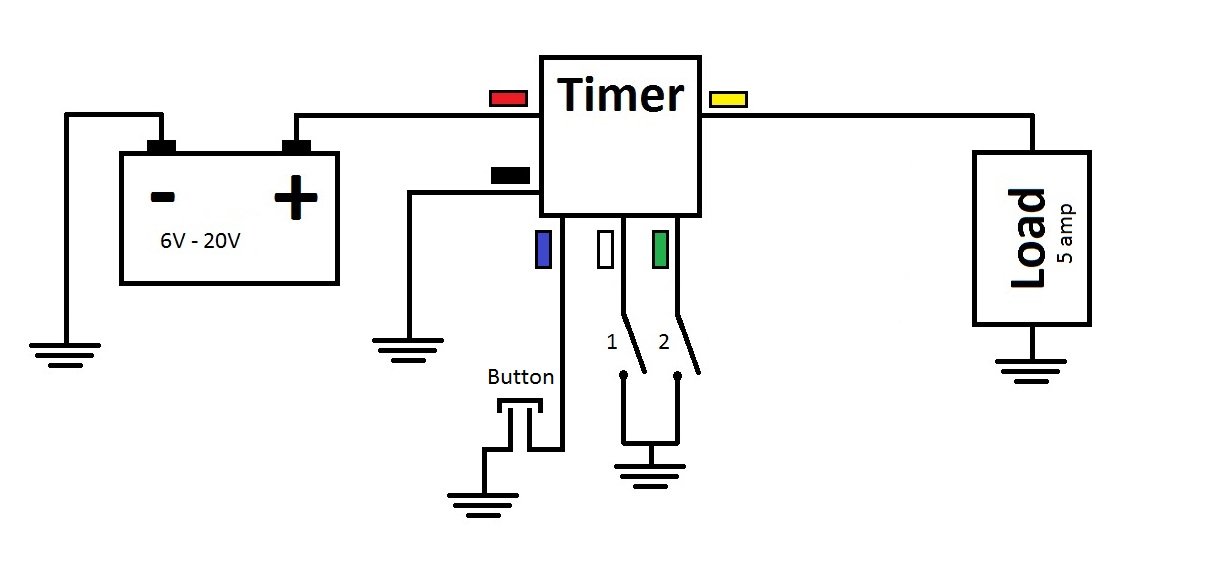 countdown relay timer