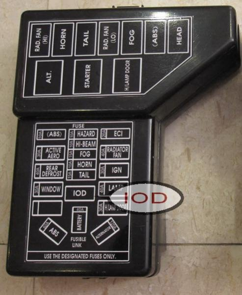 Mitsubishi 3000gt Fuse Box Location - Wiring Diagrams Schema