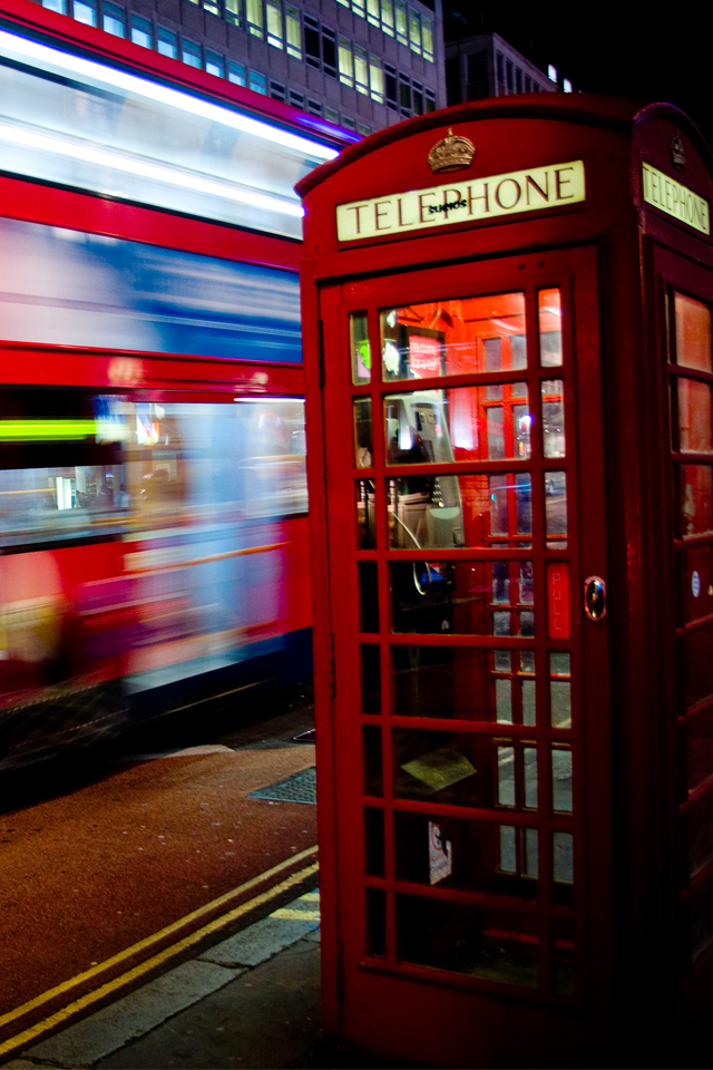 Hd Wallpaper Cars 1080p London Telephone Box Wallpaper For Iphone X 8 7 6