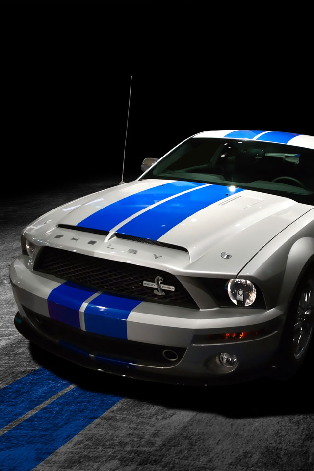 Mustang Gt Car Hd Wallpaper Mustang Shelby Gt500kr Wallpaper For Iphone X 8 7 6