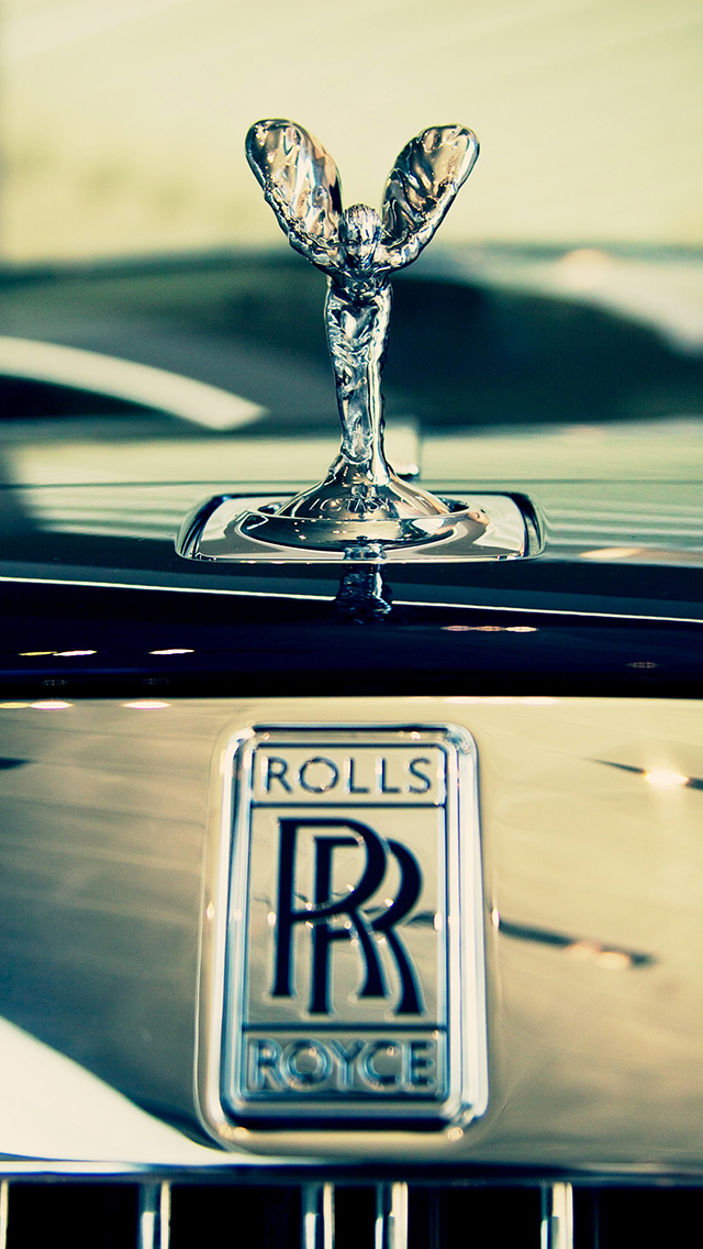 Iphone 4s White Wallpaper Rolls Royce Wallpaper For Iphone X 8 7 6 Free