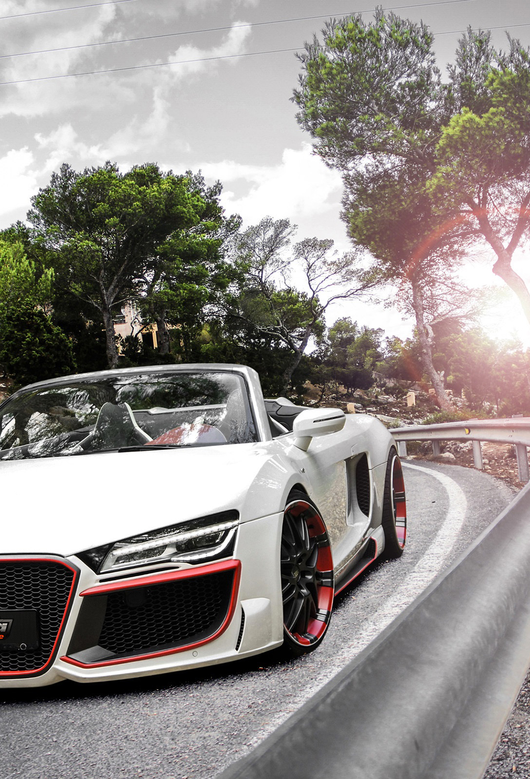 Audi R8 Wallpaper Iphone 6 Audi R8 V10 Spyder Wallpaper For Iphone X 8 7 6 Free