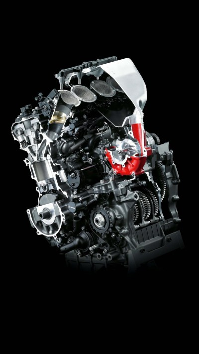 Kawasaki H2R Engine Wallpaper for iPhone X, 8, 7, 6 - Free Download on 3Wallpapers