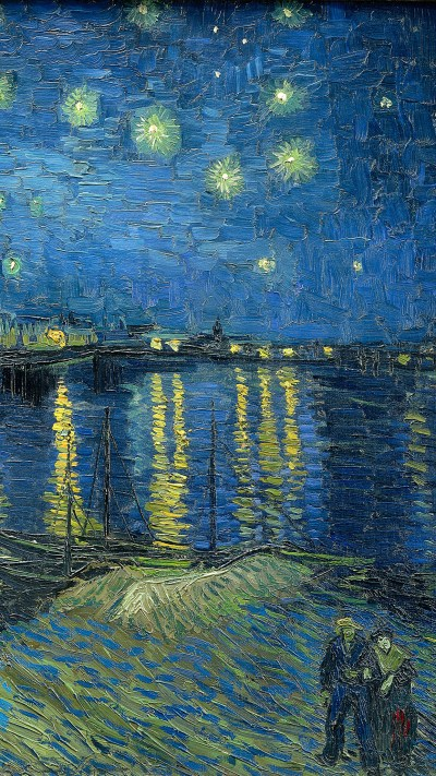 Van Gogh art Wallpaper for iPhone X, 8, 7, 6 - Free Download on 3Wallpapers