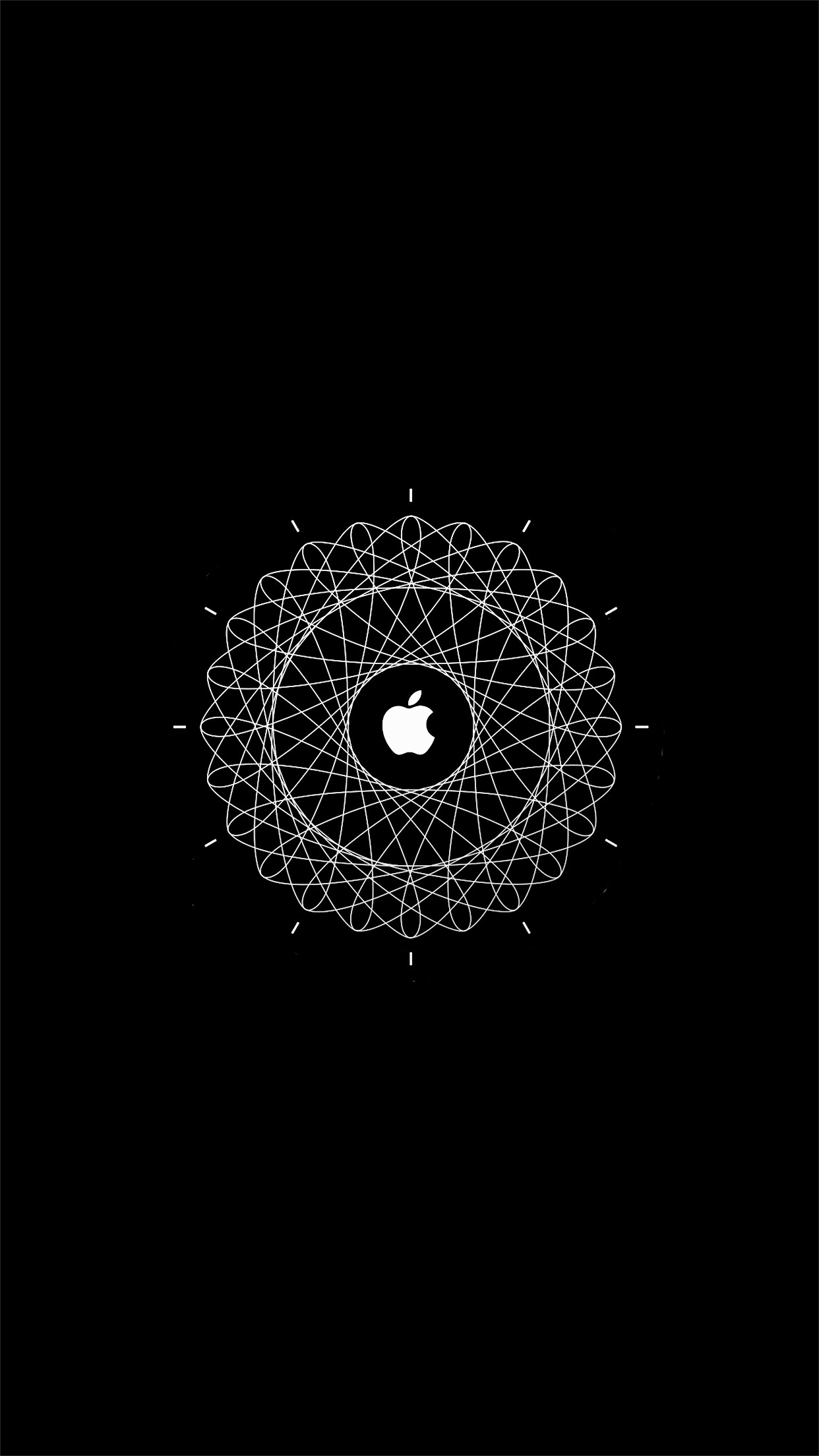 Mandala Wallpaper Iphone 6 Ianfuchs Apple Watch Animation 1 Wallpaper For Iphone X 8