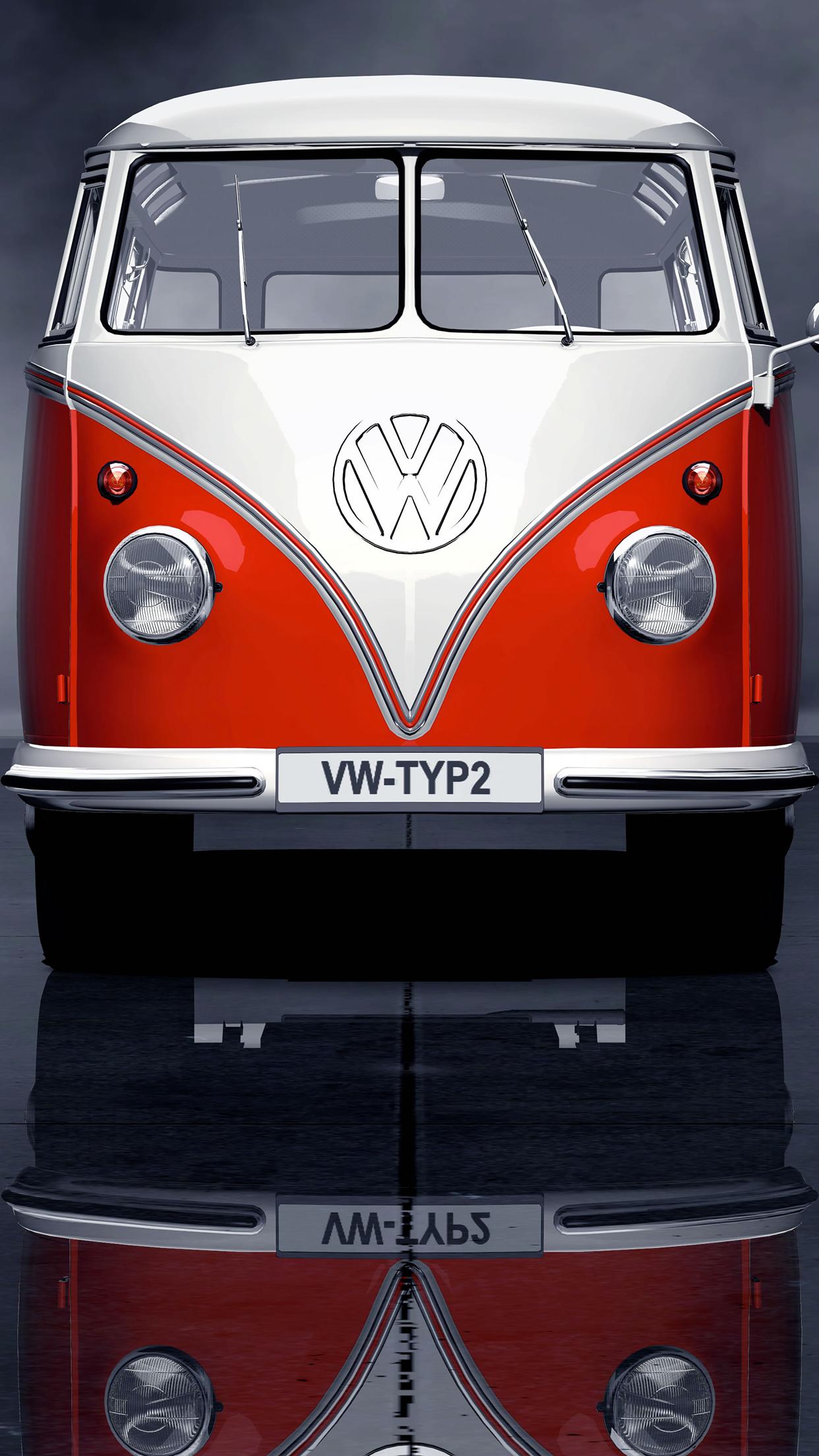 Iphone 4s New Wallpapers Volkswagen Combi Wallpaper For Iphone X 8 7 6 Free