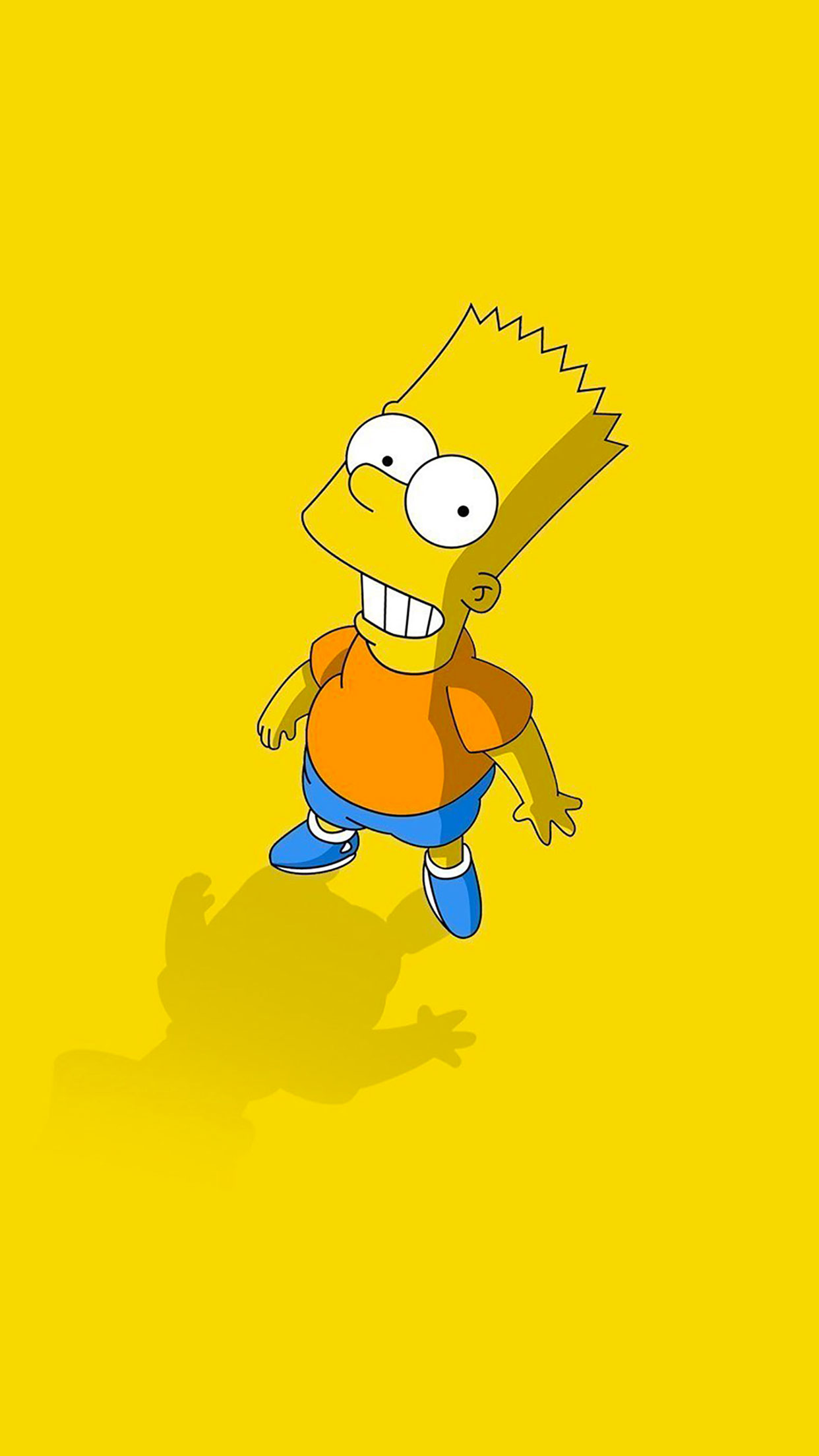 Hd Ipad Retina Wallpapers Simpsons Bart Wallpaper For Iphone X 8 7 6 Free