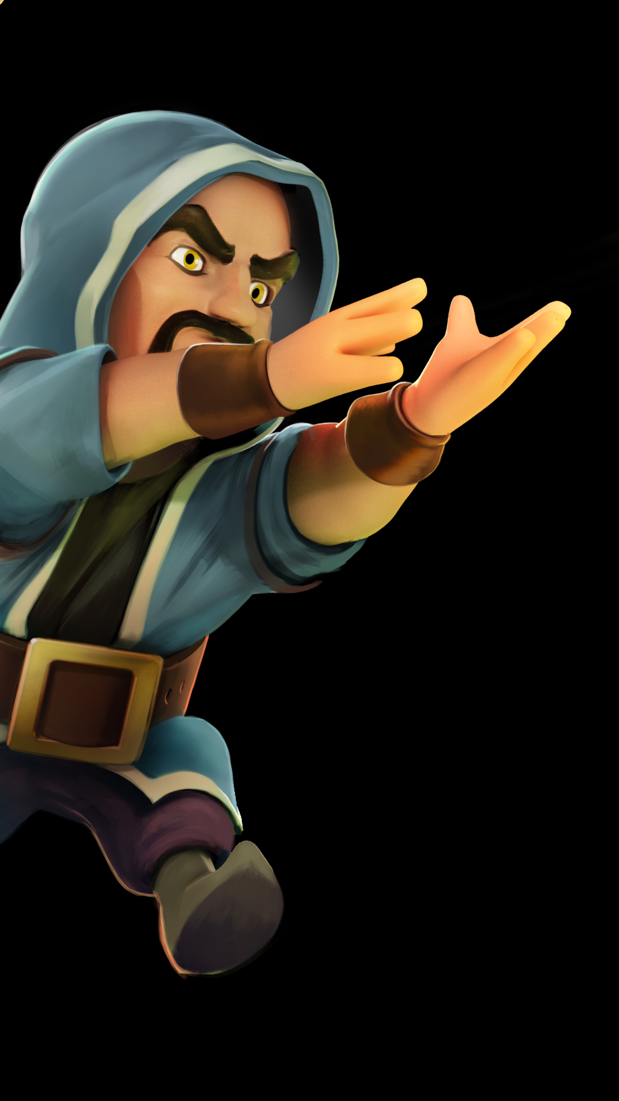 Wallpaper For Iphone 5s Black Clash Of Clans Wizard Wallpaper For Iphone X 8 7 6