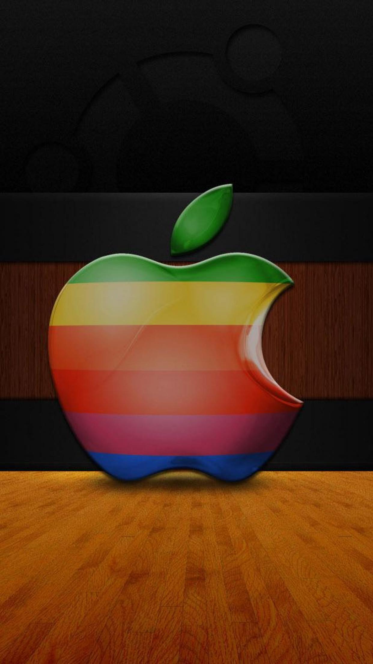 3d Wallpaper Parallax Free Apple Logo 3d Wallpaper For Iphone X 8 7 6 Free