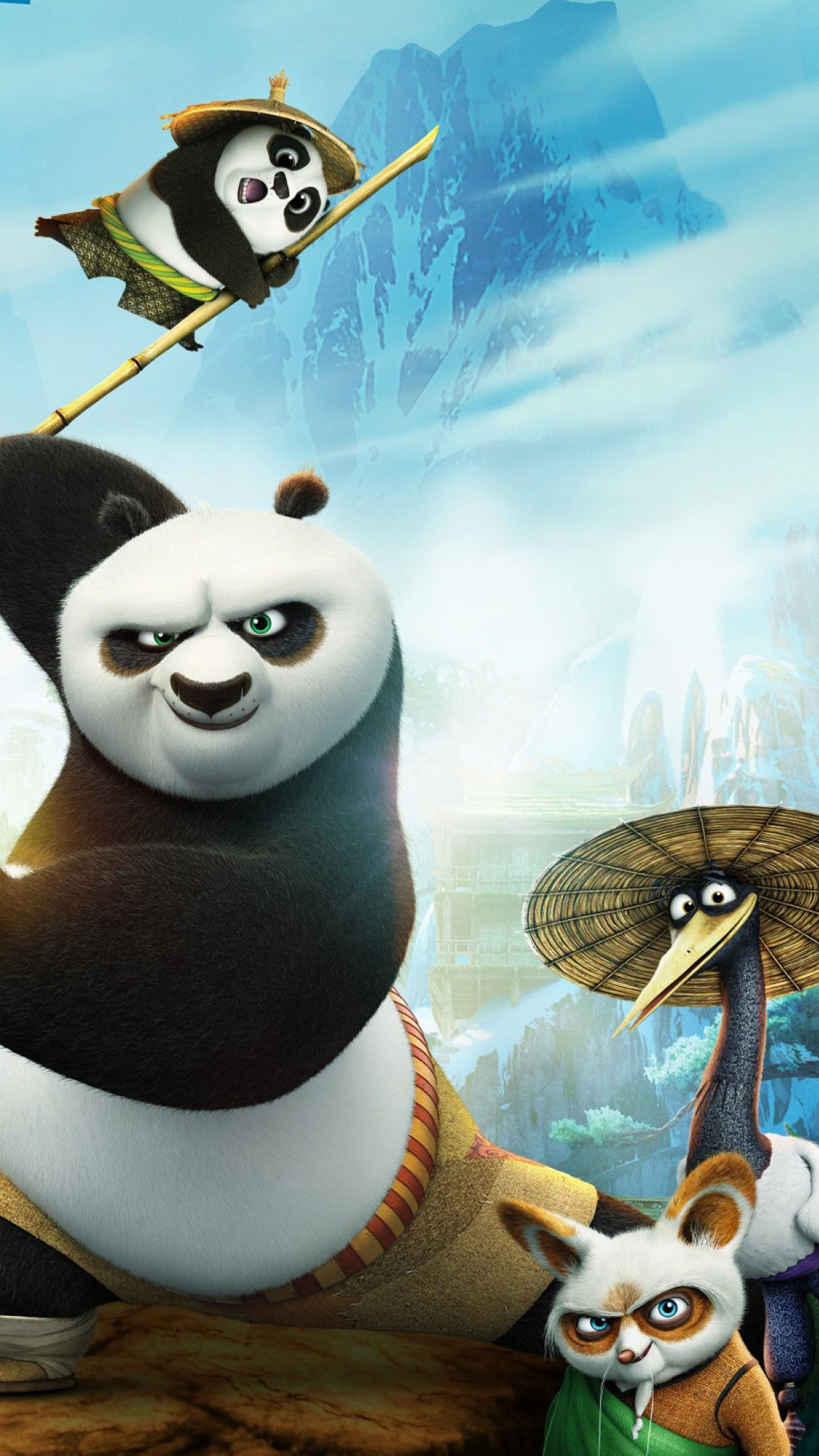 3d Touch Iphone 6s Wallpaper Kung Fu Panda 3 Wallpaper For Iphone X 8 7 6 Free