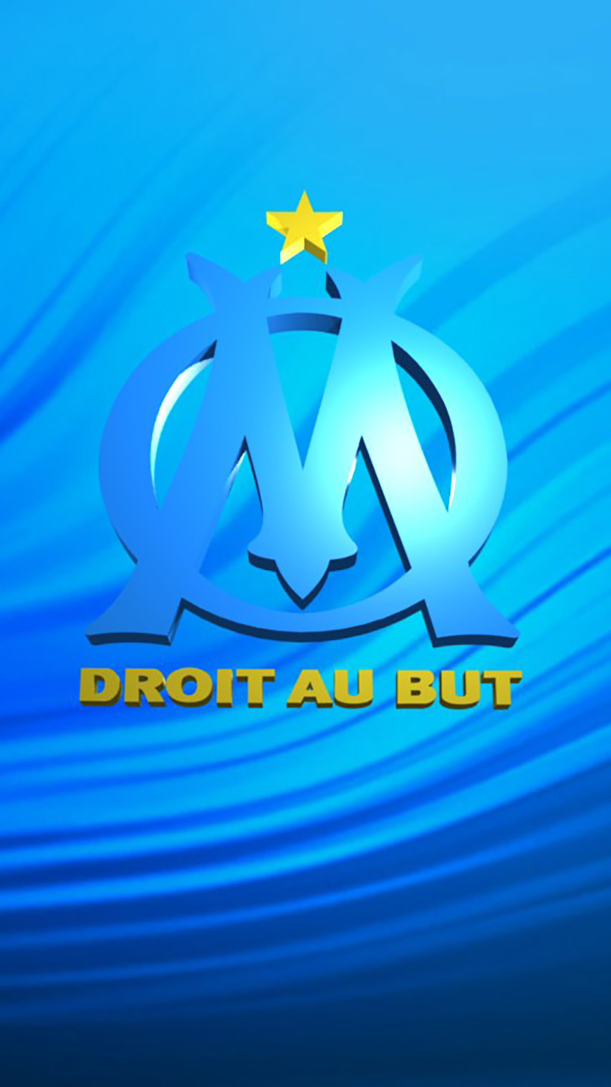 Anime Girl Wallpapers Phone Olympique De Marseille Logo 1 Wallpaper For Iphone X 8
