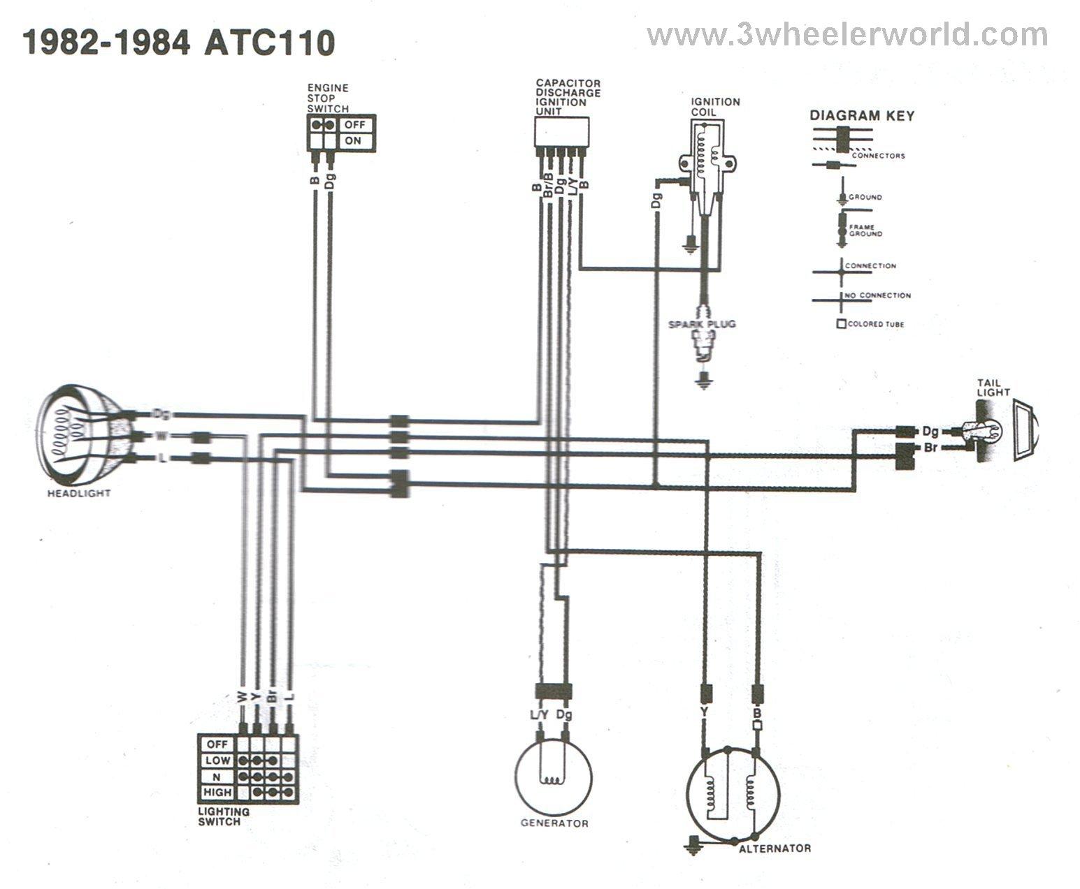 diagram of a 1980 honda goldwing wiring