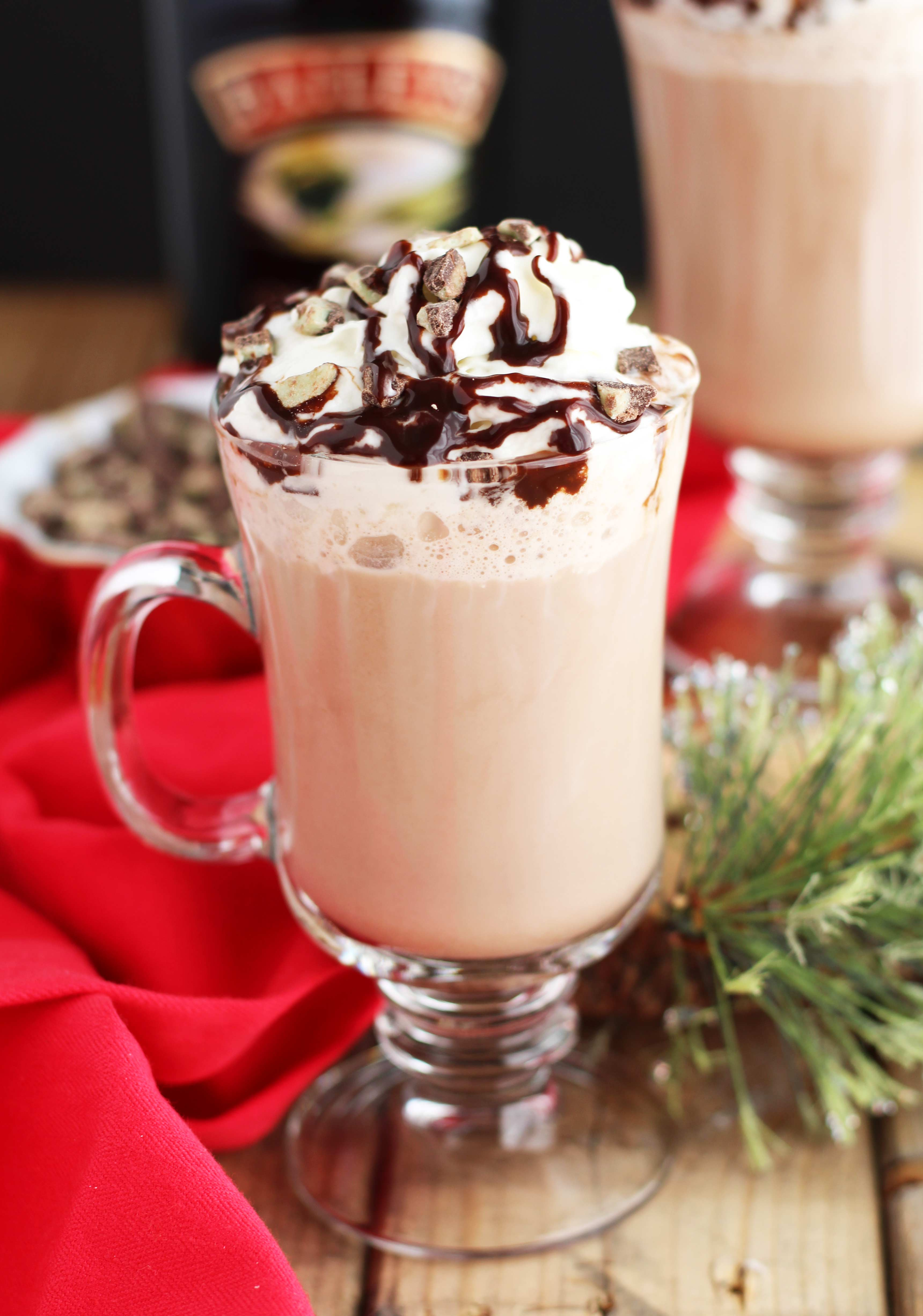 Hot Chocolate With Baileys And Vodka