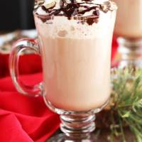 Baileys Peppermint Hot Chocolate