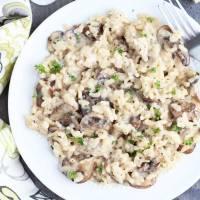 Best Mushroom Risotto