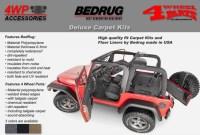 Jeep Wrangler TJ Carpet Kits-4 Wheel Parts