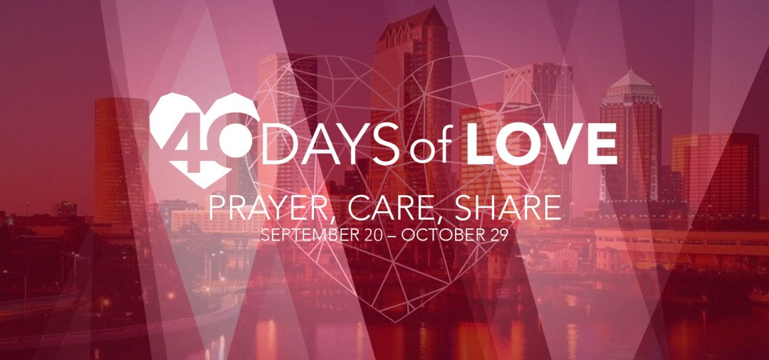 40 Days of Love - Banner