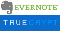 Secure Evernote with True Crypt