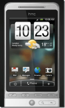 HTC Hero | SenseUI