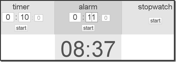 Timer Tab Turns Your Browser Into a Simple and Beautiful Timer, Alarm Clock, and Stopwatch | 40Tech