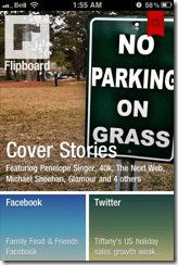 Flipboard Cover on iPhone | 40Tech