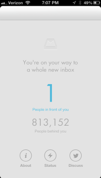 Mailbox reservation queue