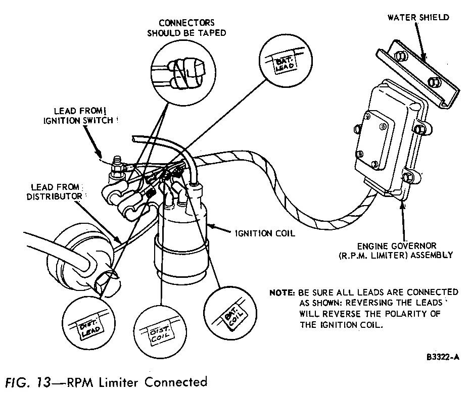 Electronic Engine Governor (Rev Limiter) Mustang 428 Cobra Jet