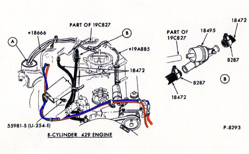 1972 mustang mach 1 wiring diagram