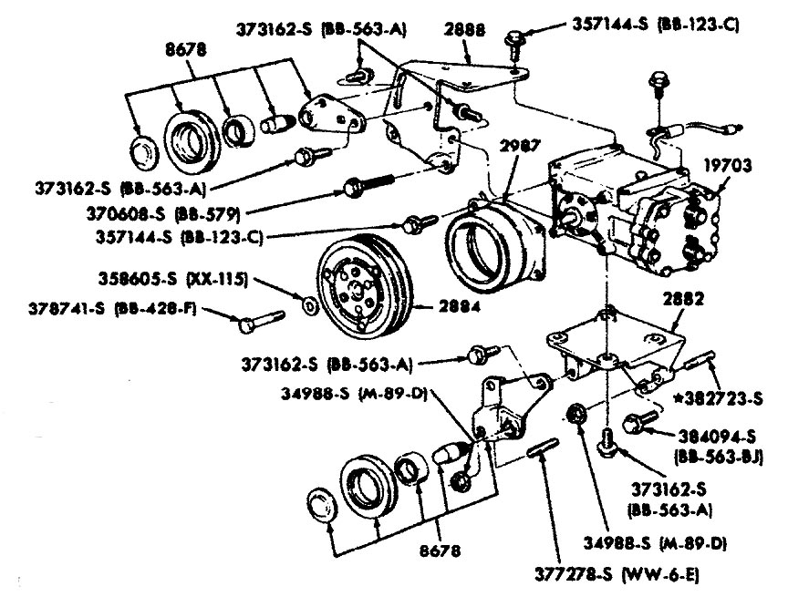 a c compressor schematic