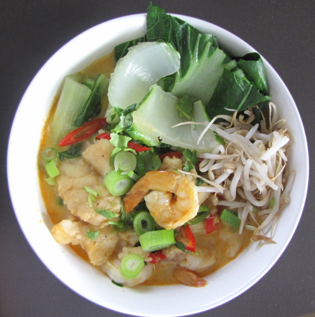 Seafood Laksa - A delicious low calorie meal