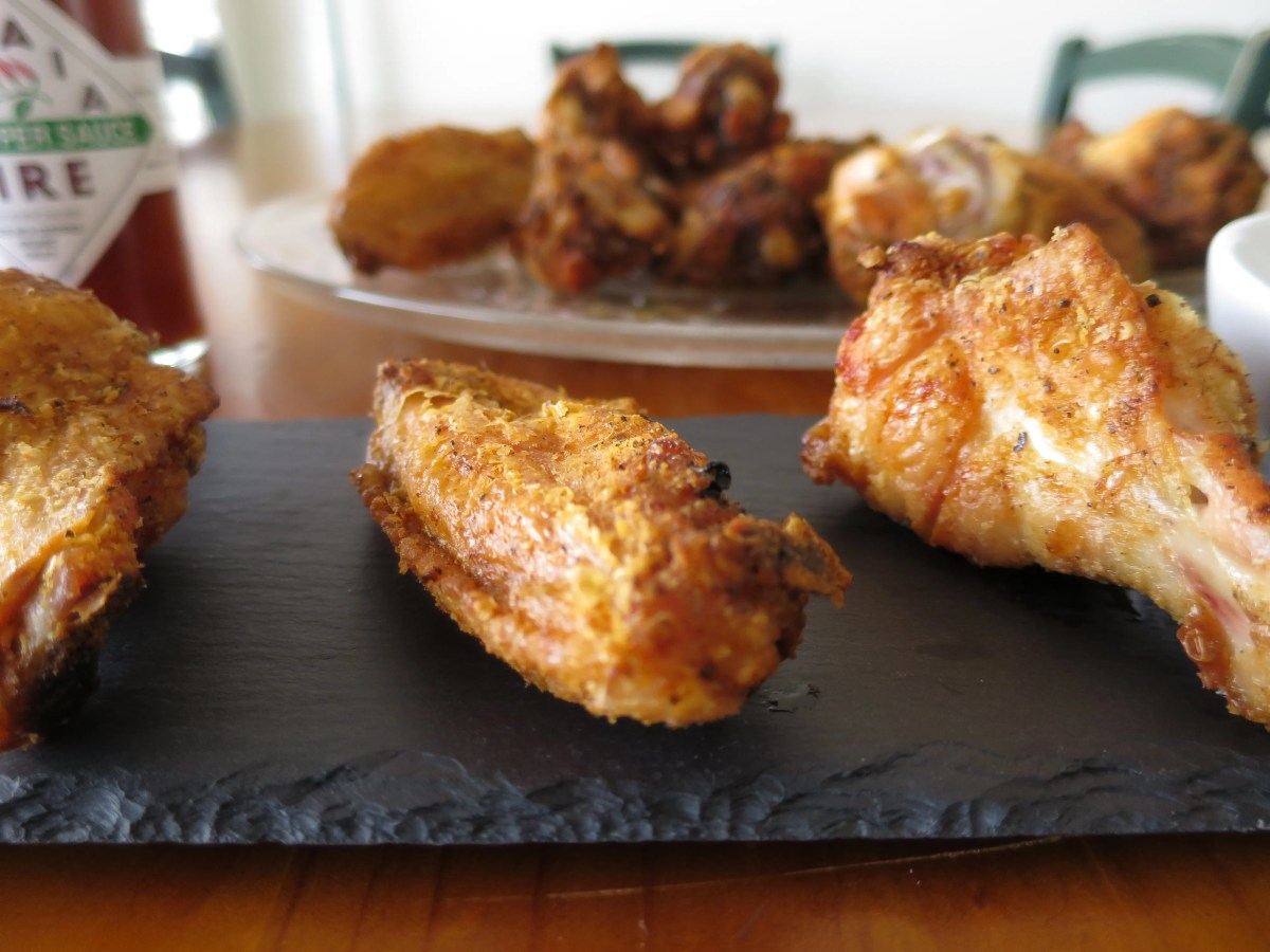 Crispy Oven Baked Buffalo Chicken Wings