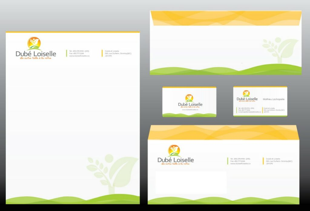 how to create a business letterhead