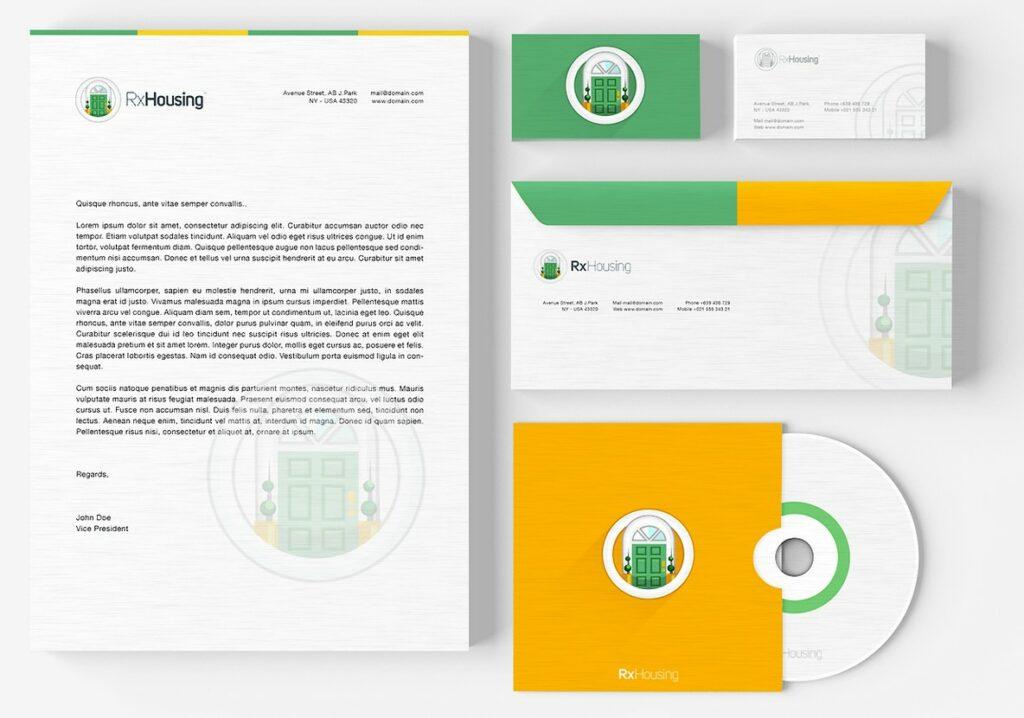 Designing matching business card and stationery pack \u2013 48hourslogo Blog