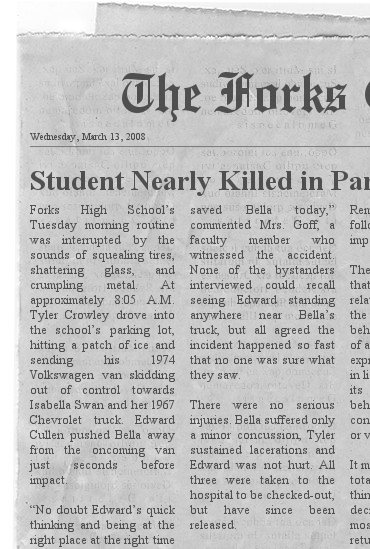 Newspaper Article 6-8 (Teacher Page) - newspaper headline template
