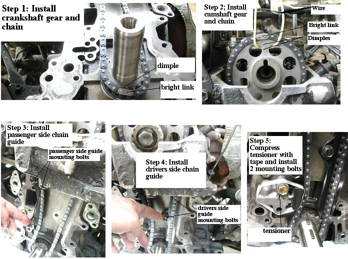 22R/RE/REC/RET Timing Chain Replacement Instructions