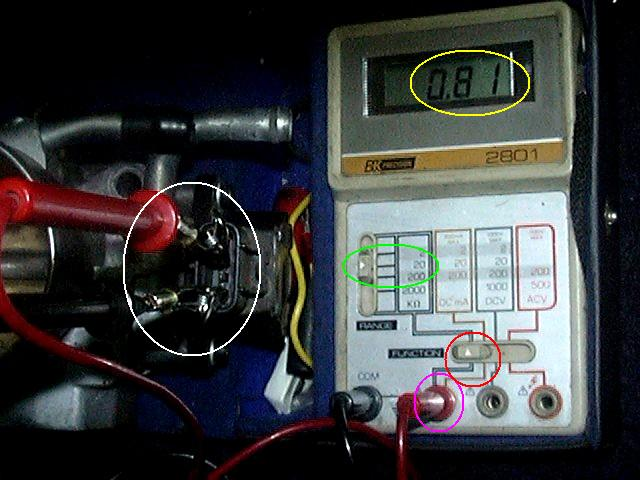 Toyota 22RE Throttle Position Sensor