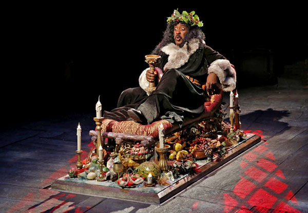 © 2013, A Christmas Carol, Act Theatre. Photo by Chris Bennion