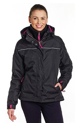 Harry Hall Malton Ladies Padded Waterproof Jacket